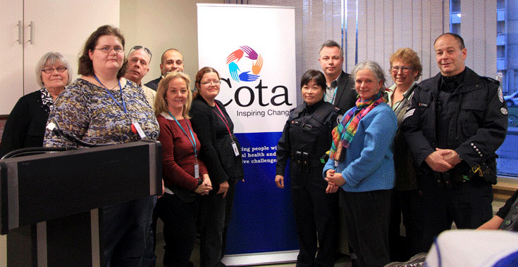 220 Oak Street Pilot partnership Cota, TCHC and some Toronto 911 Responders