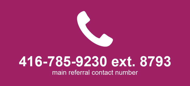 Cota's main number 416-785-9230 extension 8793