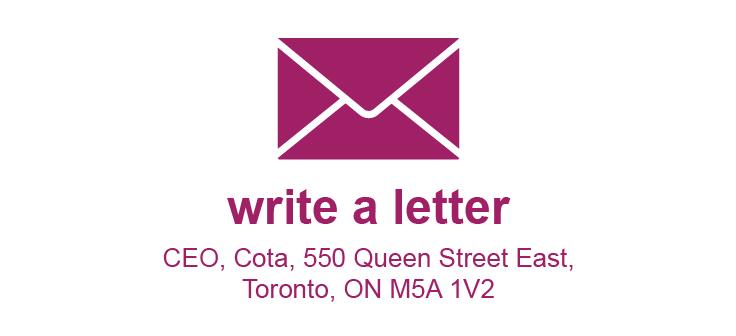write a letter envelope icon wth address