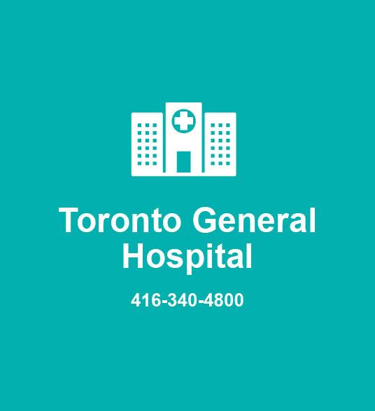 Toronto General Hospital 416-340-4800