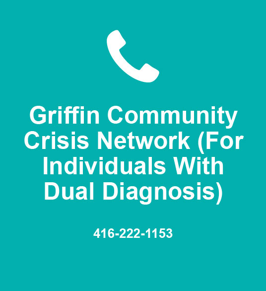 Griffin Community Crisis Network (For Individuals With Dual Diagnosis) 416-222-1153
