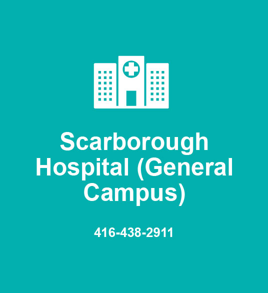 Scarborough Hospital (General Campus) 416-438-2911