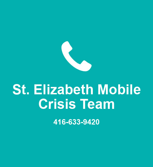 St. Elizabeth Mobile Crisis Team 416-633-9420