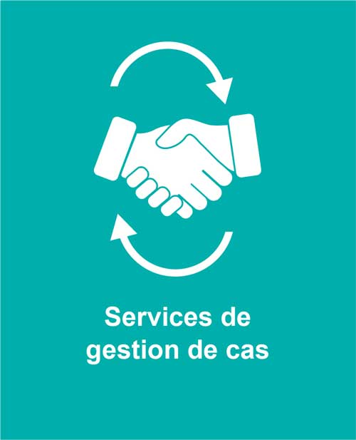 Icon of hands shaking representing Cotas case management services