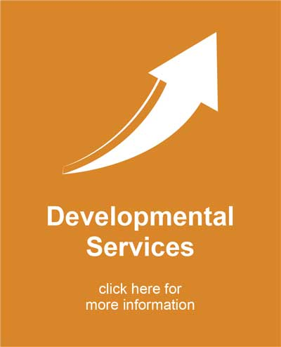 Developmental Services Icon arrow pointing up