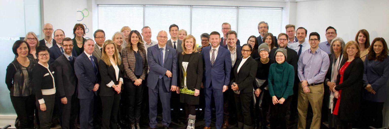 North York Toronto Health partners OHT Cota as Core partner