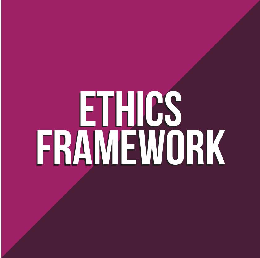 Ethics Framework Button to document