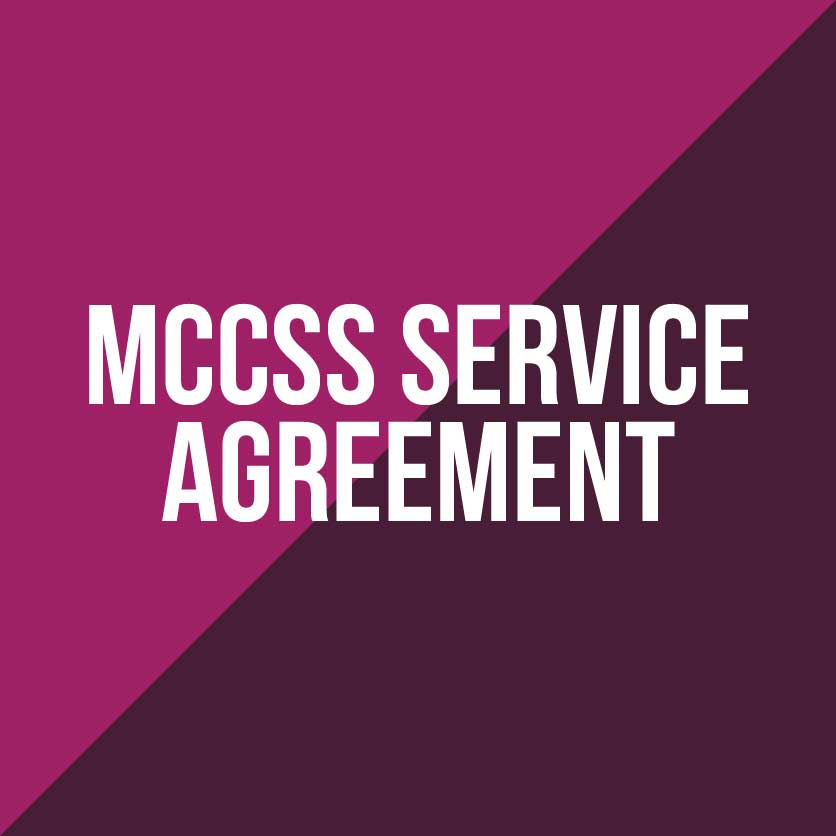 MCCSS Service Agreement
