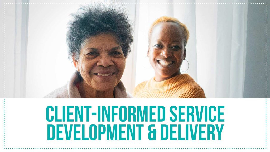 2019-2020 Annual Report - Client-Centred Service Delivery