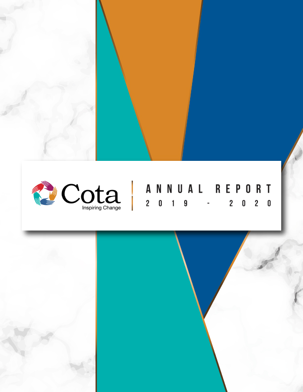 2019-2020 Cota Annual Report Cover Page