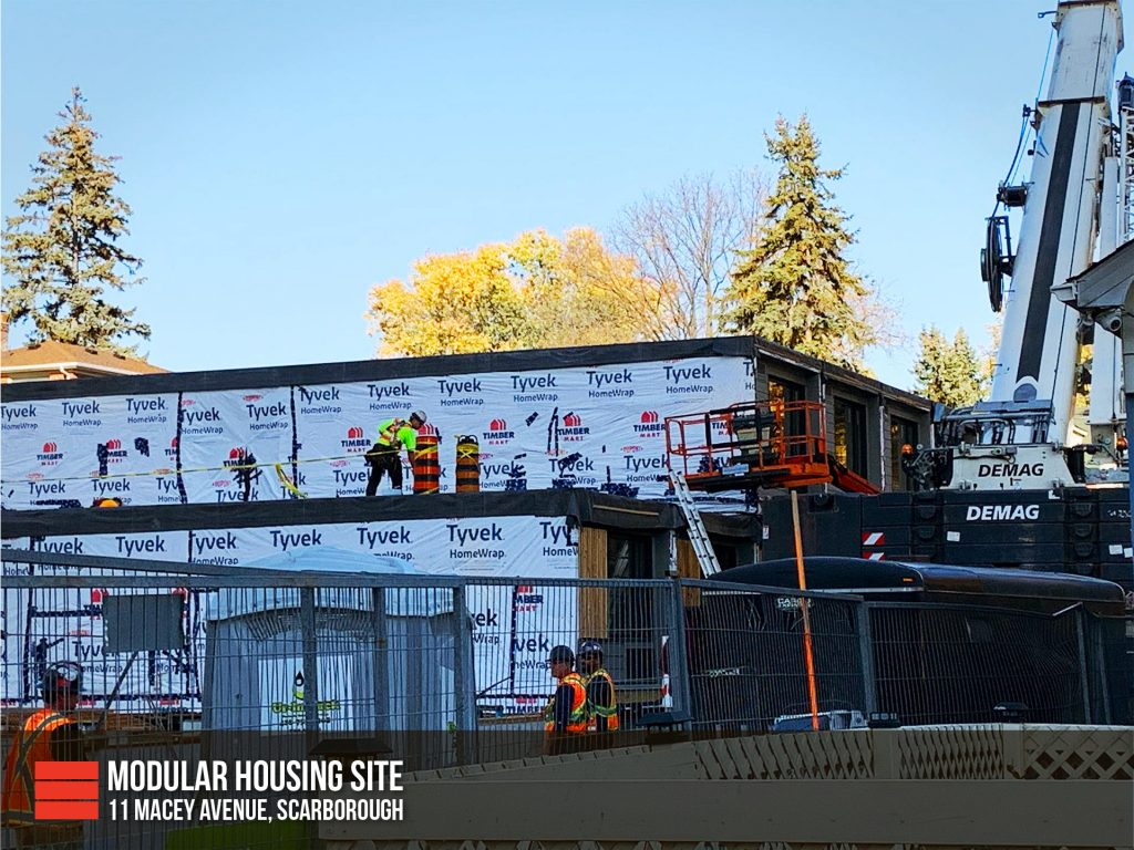 11 Macey Avenue Scarborough Modular Housing Site