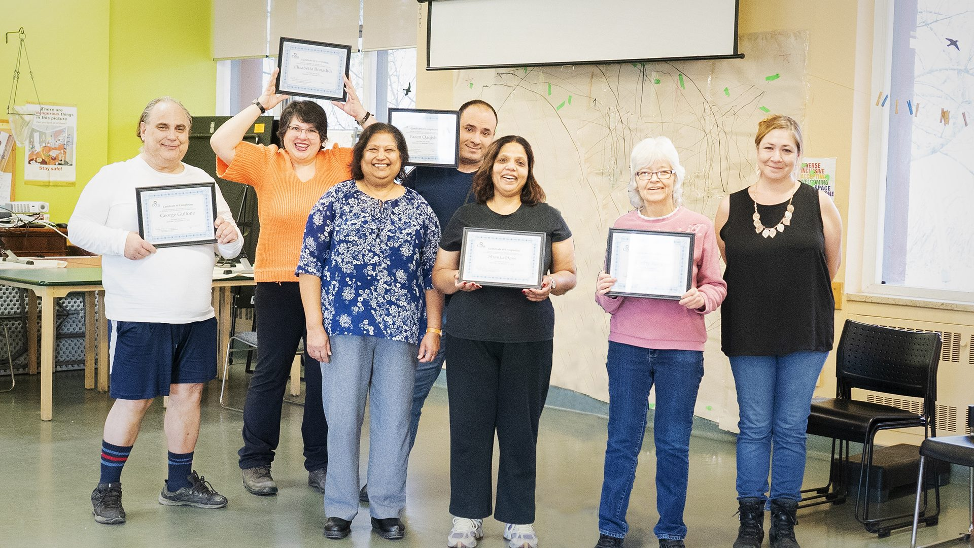 Group of participants and T.I.M.E. Program leaders on graduation day