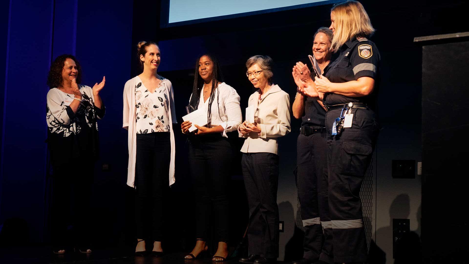 Community Paramedic Led Clinic award for successful partnership innovative service inspiring change award event